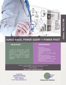 Curso powerPIVOT Fedecso